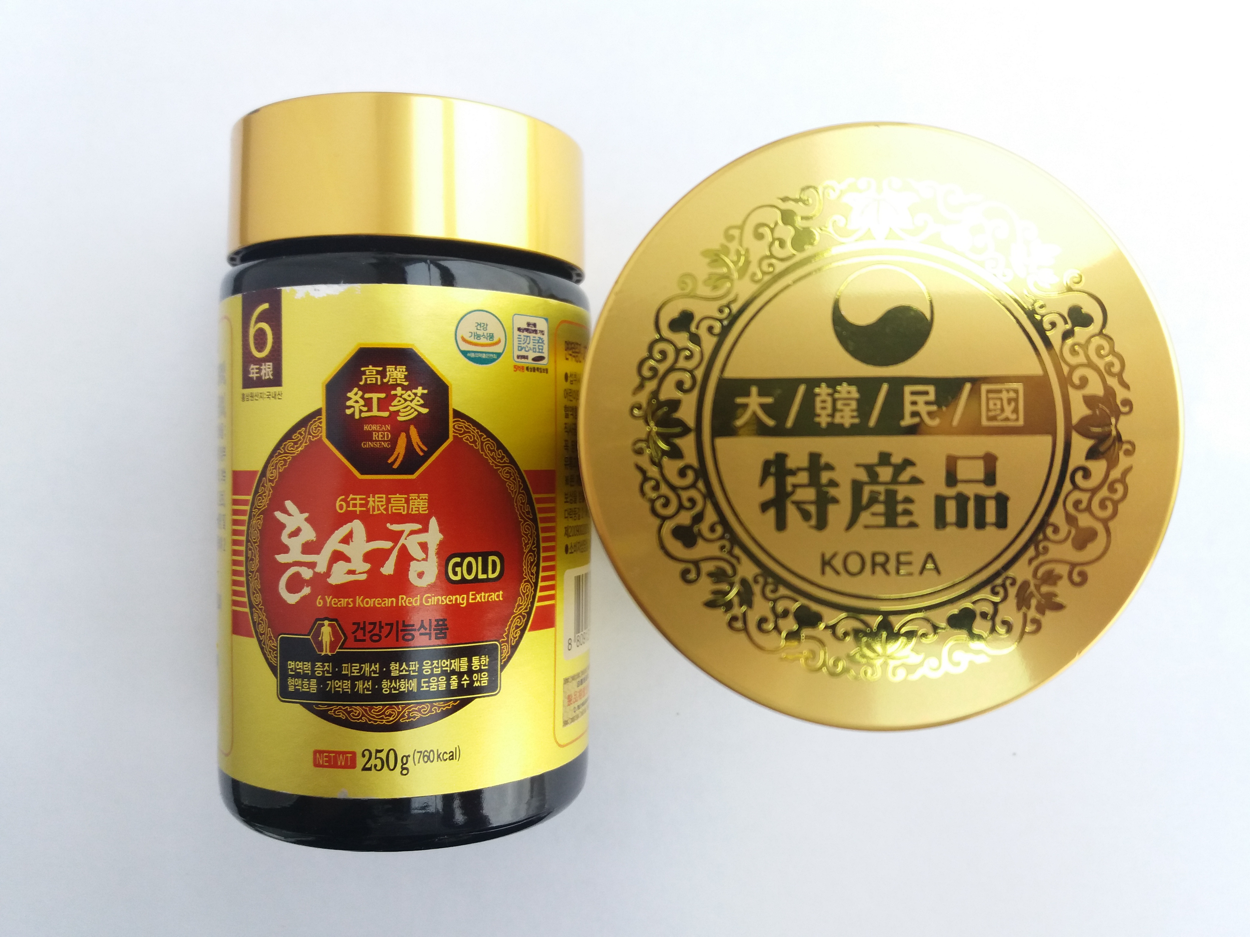 six years korean red ginseng extract